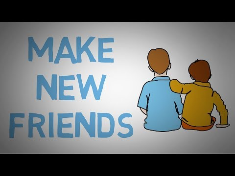 How to Make New Friends - 3 Tips on Finding Real Friends (animated)