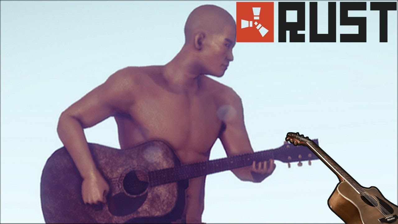 Playing The Guitar On Rust For Christmas Youtube