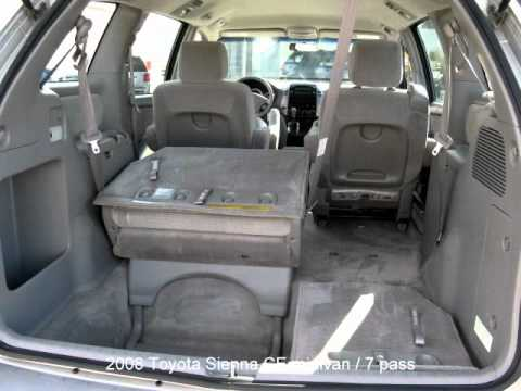 2008 toyota sienna ce 7 passenger minivan youtube. Black Bedroom Furniture Sets. Home Design Ideas