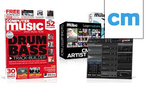 DnB TRACK-BUILDER 2015 - Computer Music magazine 223 - OUT NOW