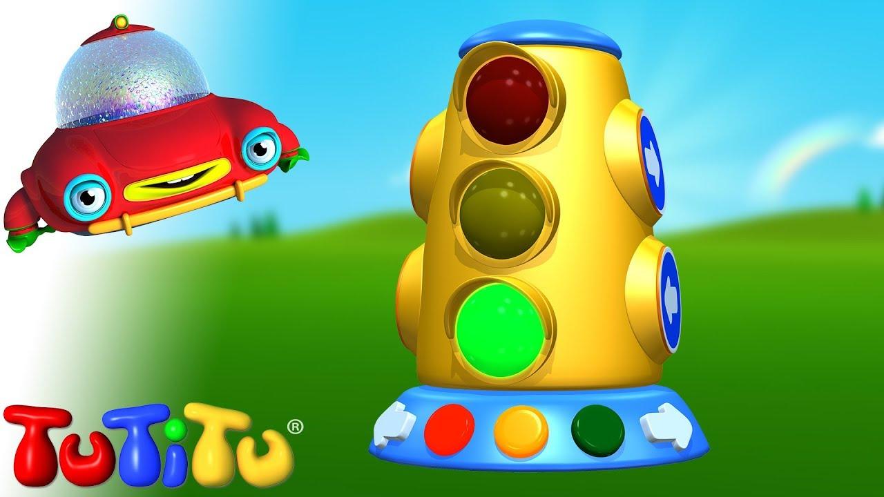 Đèn giao thông – Tìm hiểu cách xây dựng đồ chơi với TuTiTu