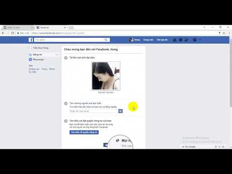 Tạo nick Facebook không cần số điện thoại bằng Email 10p