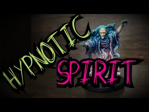 How to Paint - Doing some art again Hypnotic Spirit