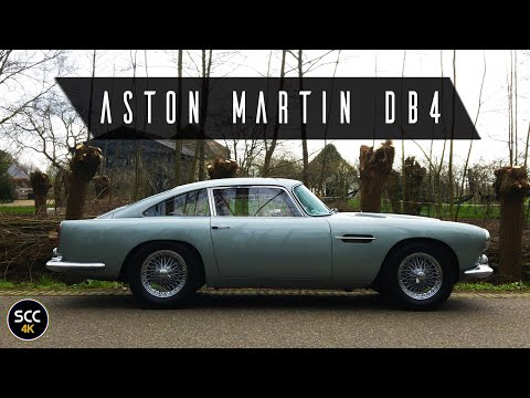 4K - ASTON MARTIN DB4 S2 RARE LEFT HAND DRIVE LHD Test Drive In Top Gear With Engine Sound | SCC TV