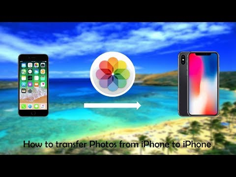 How to transfer photos from iPhone to iPhone using AirDrop