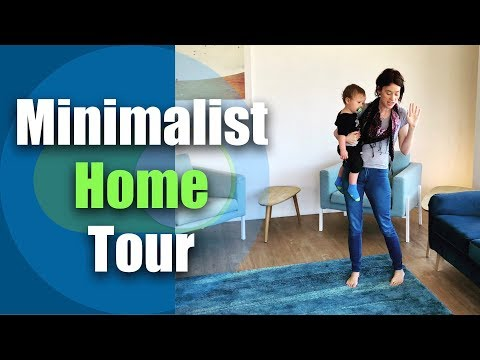 Large Family Minimalist Home Tour / Minimalist Family Apartment Tour