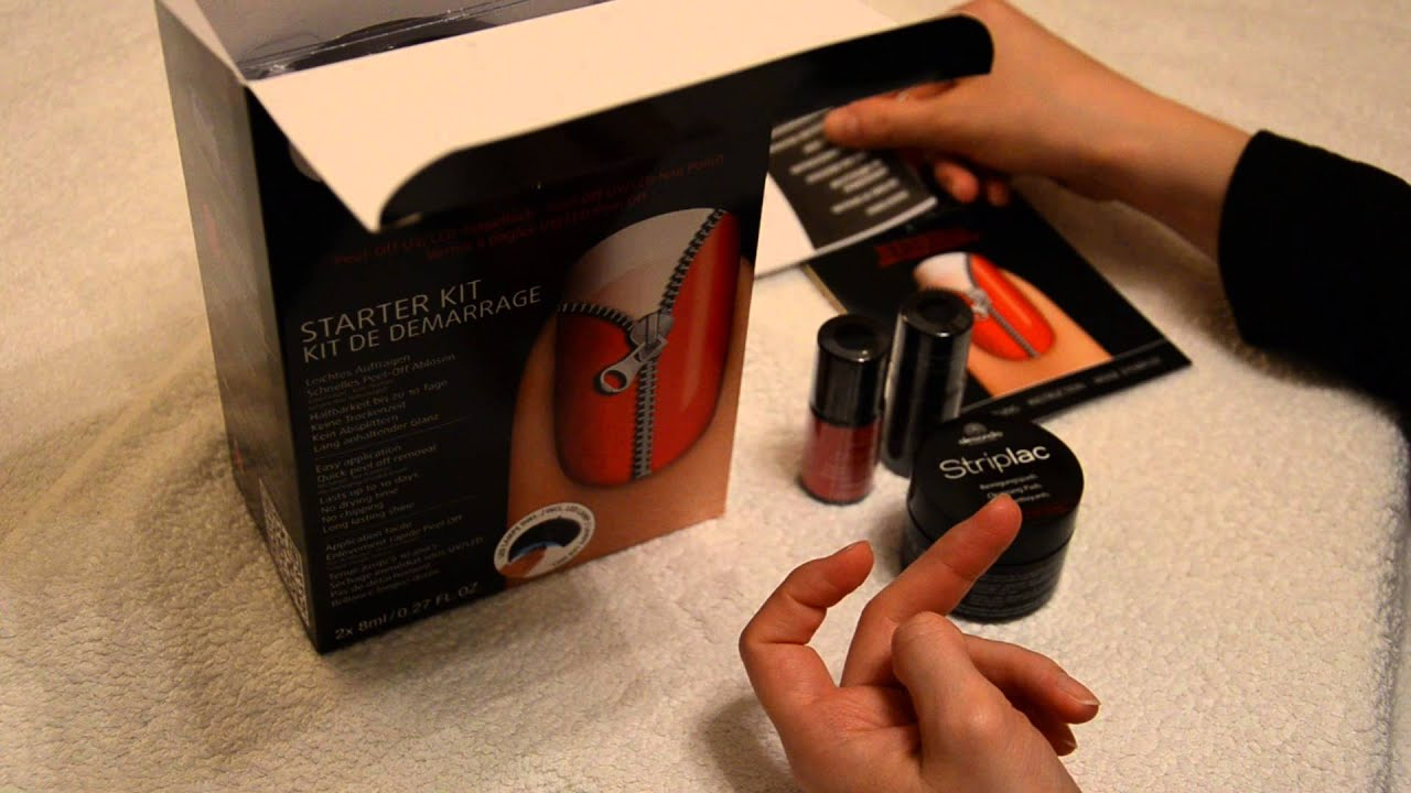 unboxing striplac von alessandro german starter kit. Black Bedroom Furniture Sets. Home Design Ideas