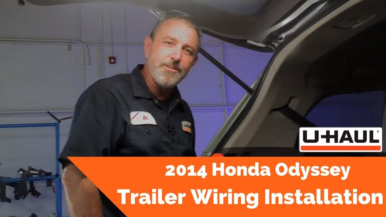 Trailer Wiring Harness For 2014 Honda Odyssey 2015 Pilot Hitch Installation Youtube On