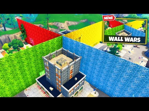 WALL WARS Custom Gamemode in Fortnite Battle Royale videó letöltés