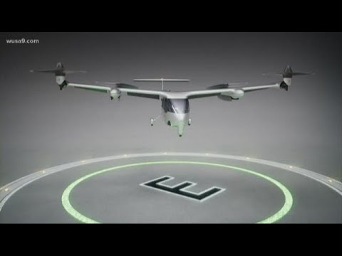 Uber shows off flying cars in DC, but will we ever see them here?