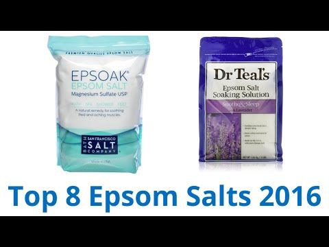 8 Best Epsom Salts 2016