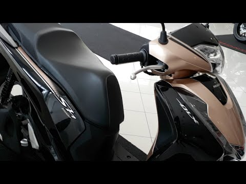 honda sh 150i dlx 2018 nova cor youtube. Black Bedroom Furniture Sets. Home Design Ideas