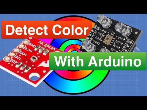 Arduino Color Sensors - TCS230 & ISL29125