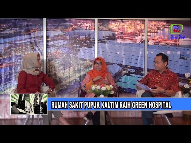 Rumah Sakit Pupuk Kaltim Raih Green Hospital