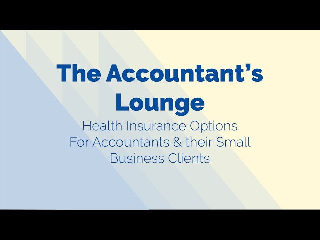 The Accountant's Lounge Talk