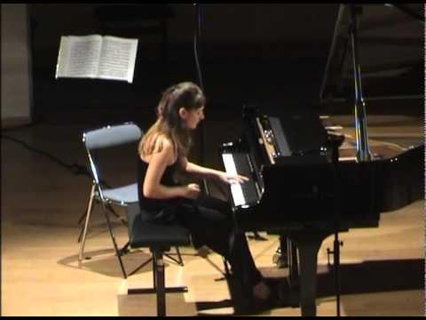 Emmanuelle Swiercz, piano et Graf Mourja, violon - Franck, Liszt, Bartok (extraits)
