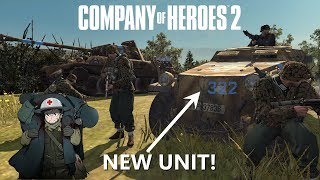 Company of Heroes 2: 4v4 Red Ball Express on Hans