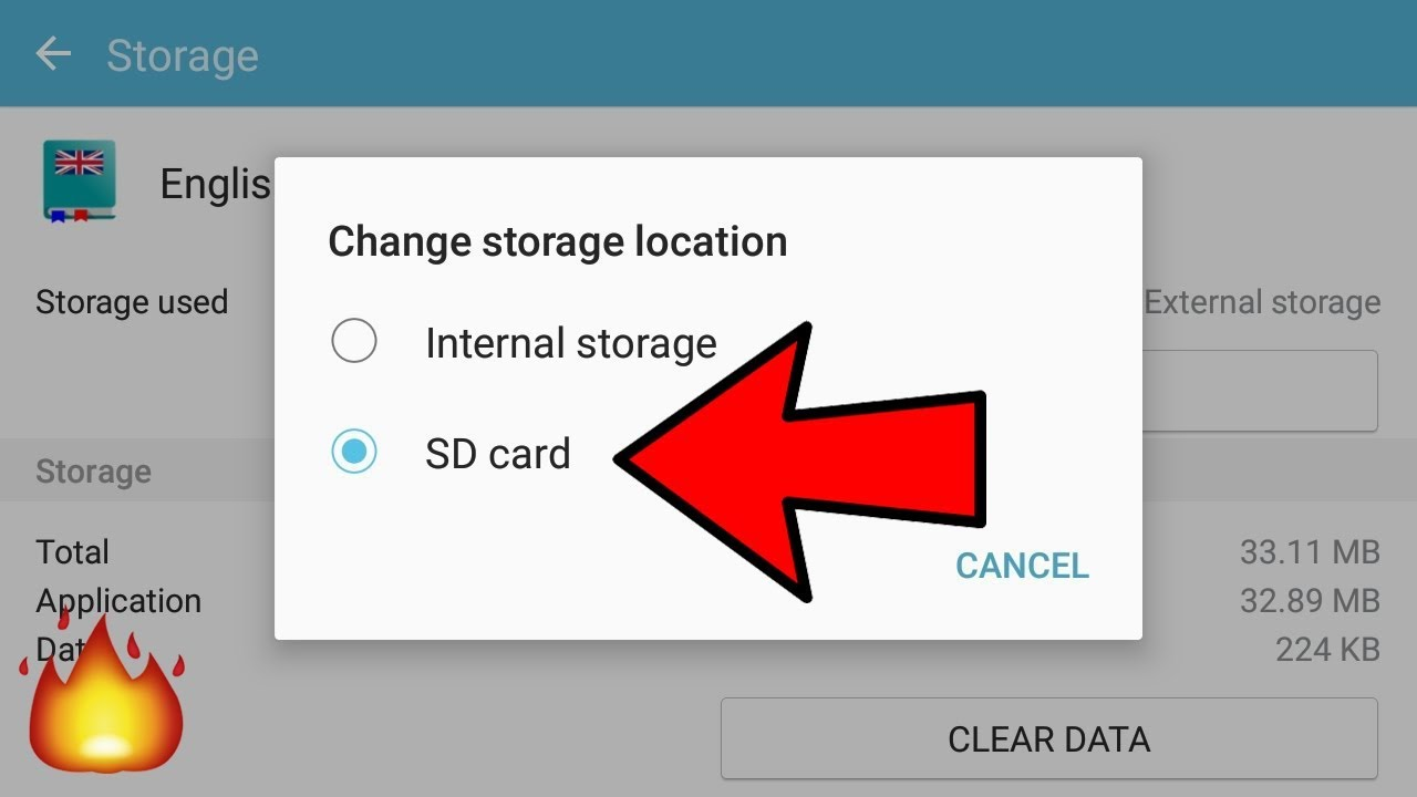 How To Change Default Download Location To Sd Card In Android