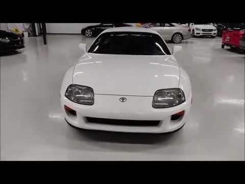 1993 Toyota Supra Twin Turbo Automatic Startup And Walk Around