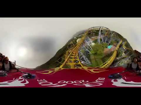 Extreme 360° RollerCoaster at Seoul Grand Park