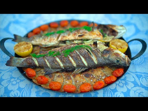 Ep 15: Whole Roasted Branzino From The Wood Fired Oven