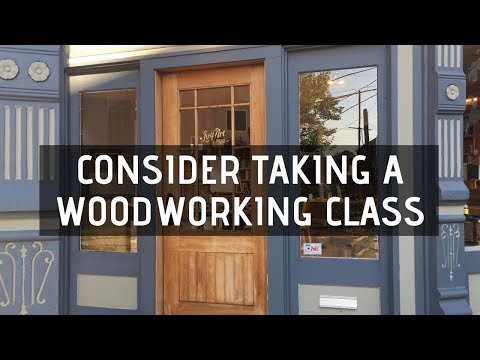 Consider Taking A Woodworking Class