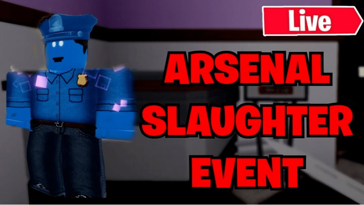 face cam playing the arsenal slaughter event