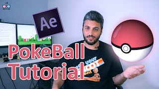 How to create Amazing Pokeball  4-Min Only! - adobe after effects