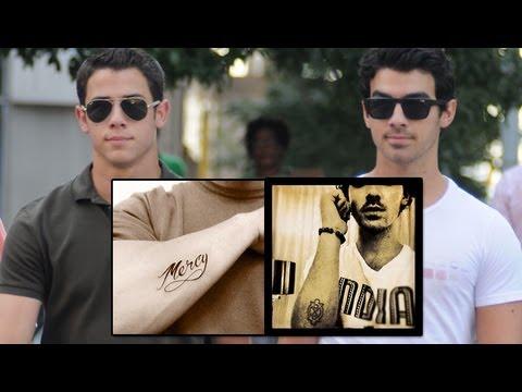 Nick & Joe Jonas New Tattoo Details