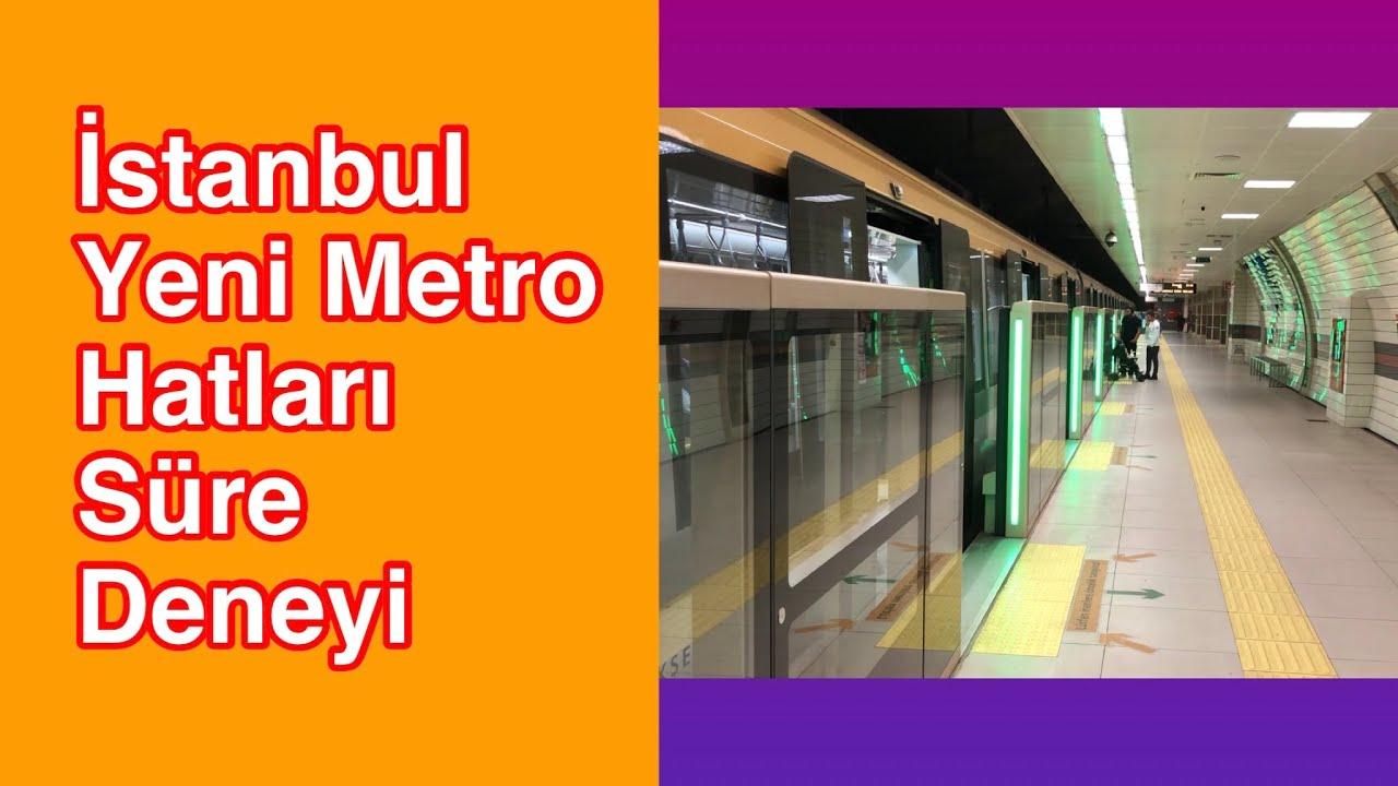 Kadıköy Yeni Metro Hatları   Yol Deneyi   Bostancı - Dudullu -M8 Hattı   VLOG   Ertan Turhan