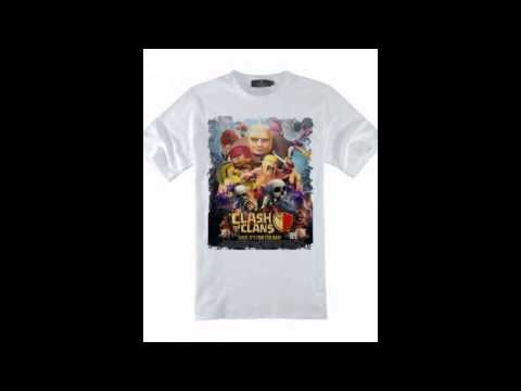Game COC Clash of Clans t shirt