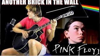 Pink Floyd - Another Brick In The Wall [FINGERSTYLE Guitar] Acoustic guitar solo cover