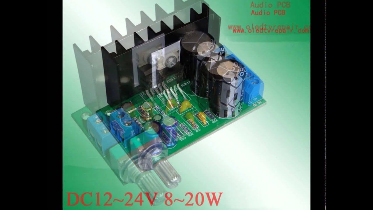 Tda2050 Amplifier Pcb Layout Bridge T Power Super Small Bcl 12w By Ic Tda7052 Tda2030a Lm1875t Audio Board Usd15 Pcs