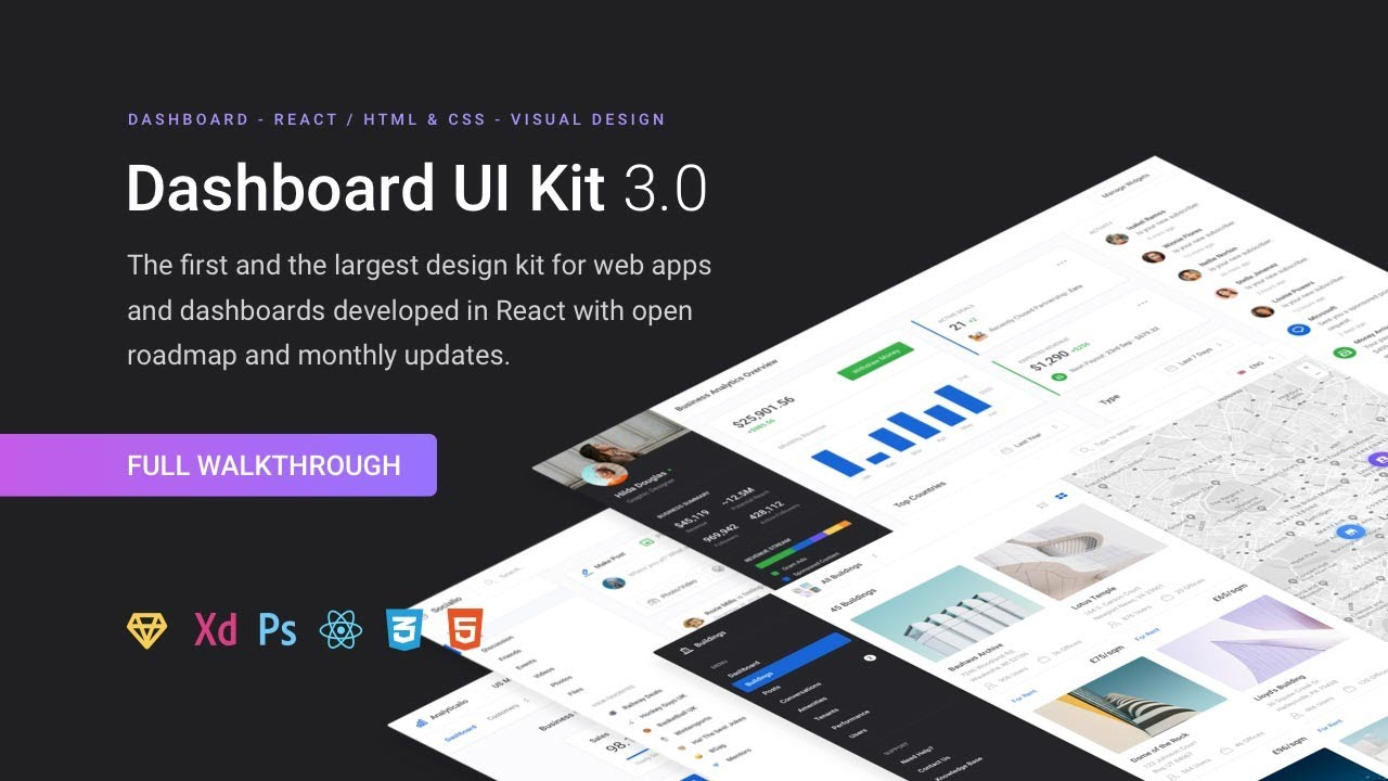 Dashboard UI Kit 3 0 - Full Walkthrough