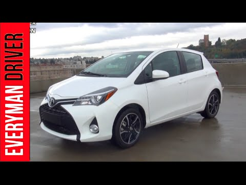 Here's the 2015 Toyota Yaris on Everyman Driver