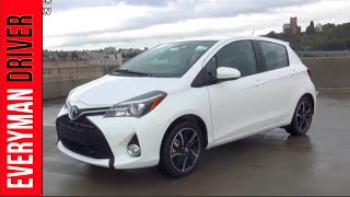 2015 Toyota Yaris on Everyman Driver (First Drive Review)