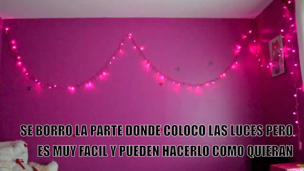 Decora tu habitacion con luces youtube - Luces para habitaciones ...