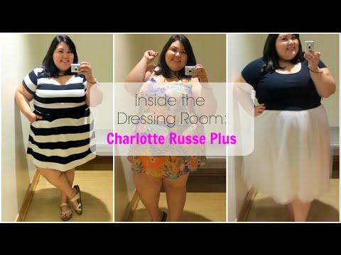 06e1a2ae52 Charlotte Russe Plus Size Try-on by Devenie Sade