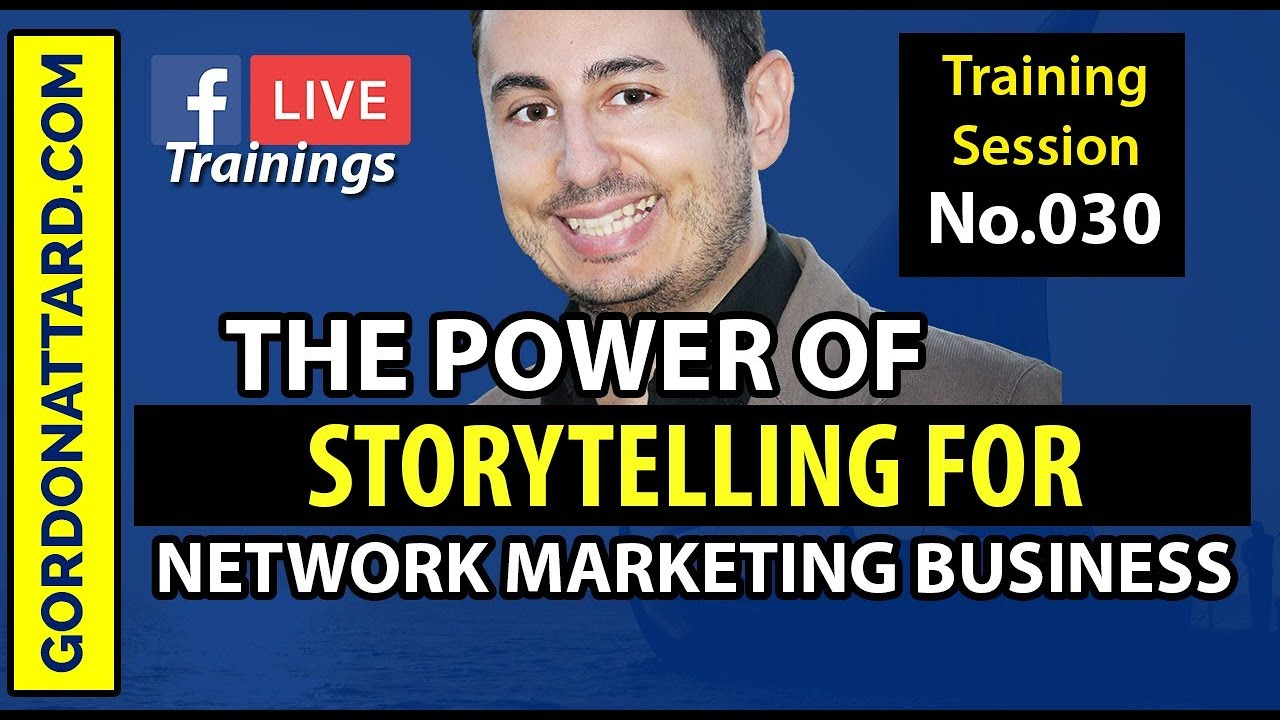 The Power of Storytelling for Network Marketing