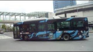 東急バス 川崎フロンターレラッピング車