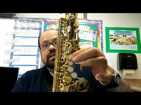 Beginning Alto Saxophone Lesson 1