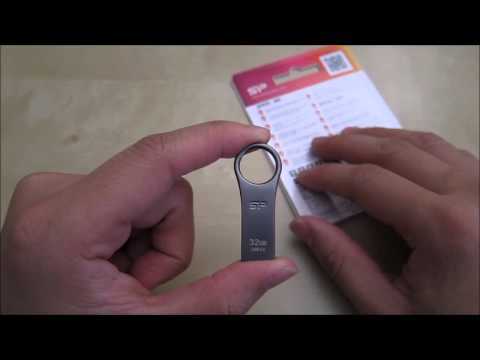 Silicon Power Jewel J80 32 GB USB 3.0 Flash Drive Review