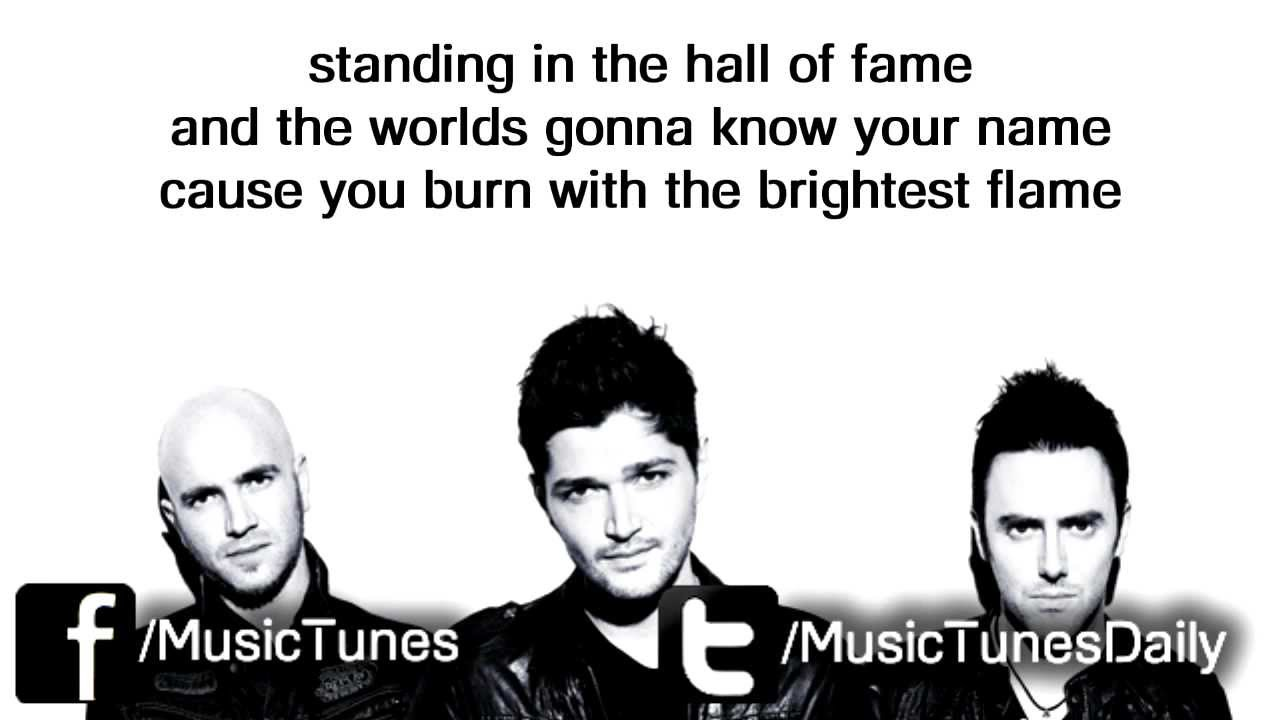 HALL OF FAME CHORDS by The Script feat. Will.i.am ...