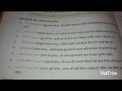 Hindi ke muhavare with meaning tagged videos | Midnight News