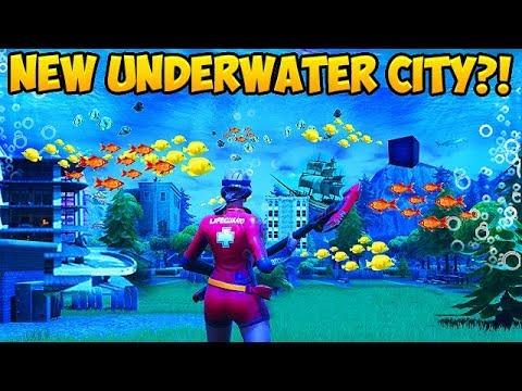NEW UNDERWATER CITY SEASON 6 LEAK Fortnite Funny