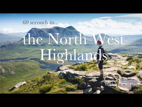 60 seconds in the North West Highlands