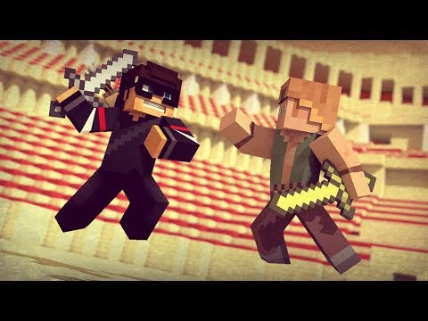 HUAHWI IN THE PIT! (Minecraft PvP)