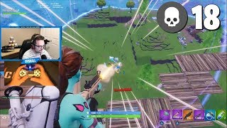 Clapping Cheeks on PC with a Controller - Fortnite Battle Royale Gameplay