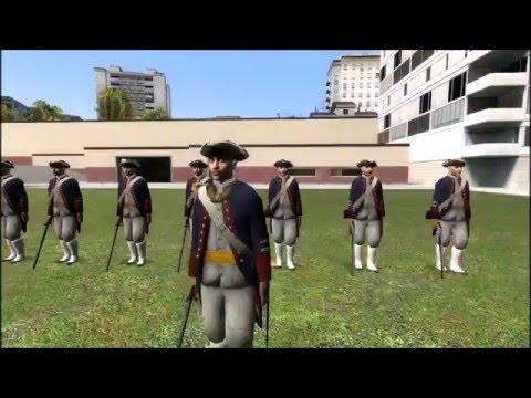 Gmod Fights Part 3: American Revolution