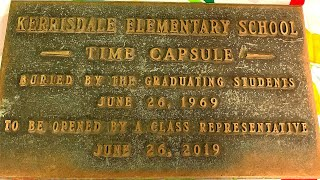 Opening 1969 Time Capsule